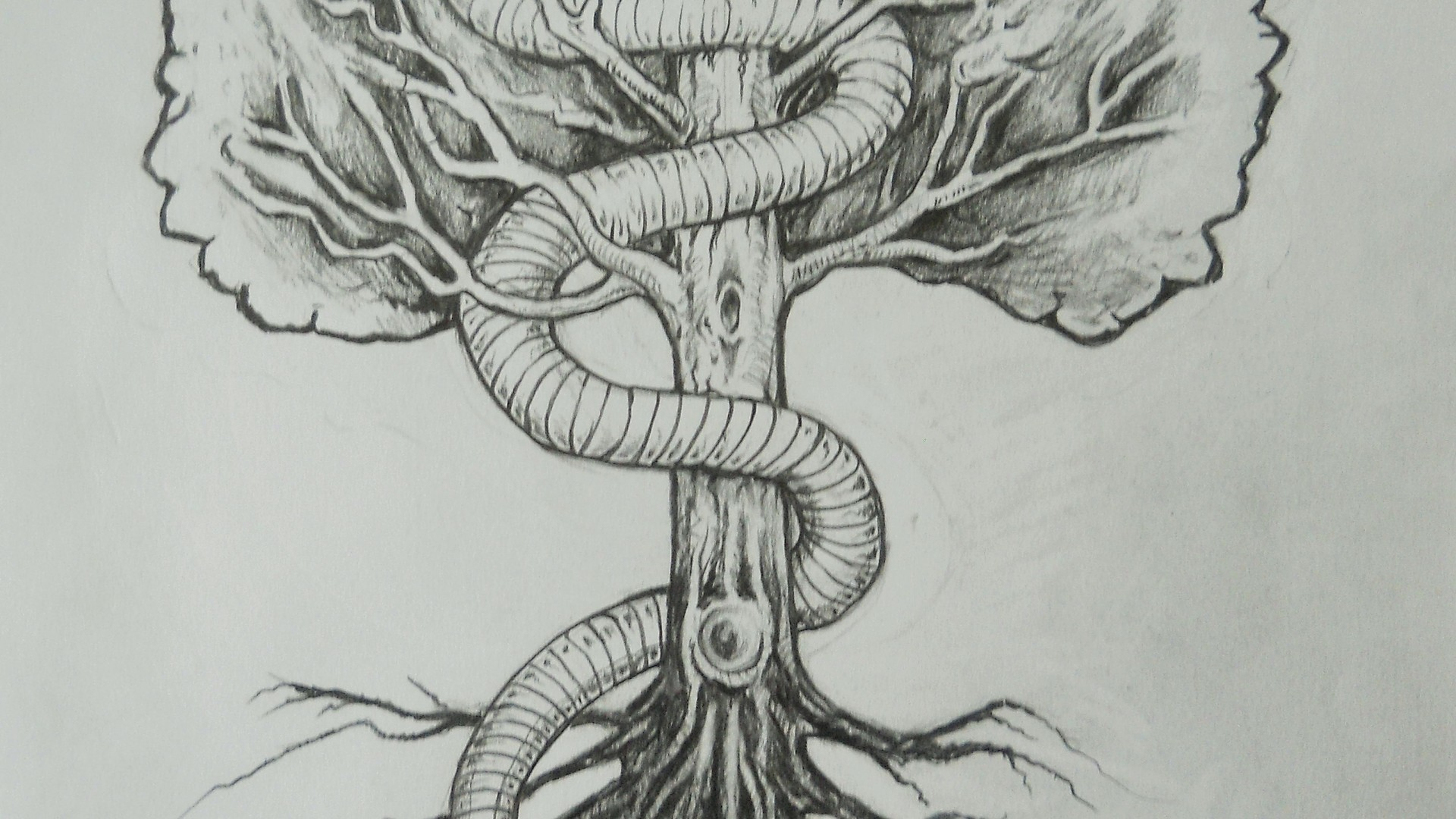 Tree and Snake