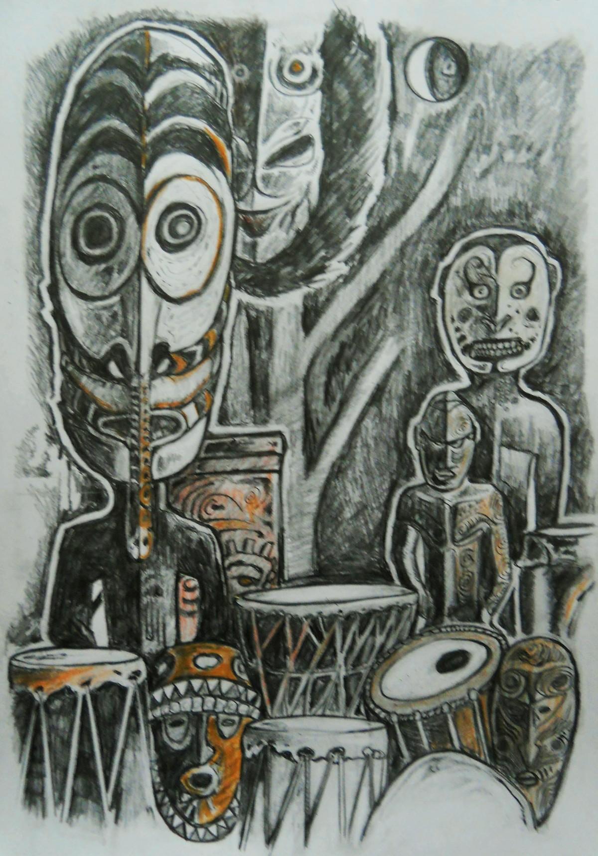 Exotic Drum people