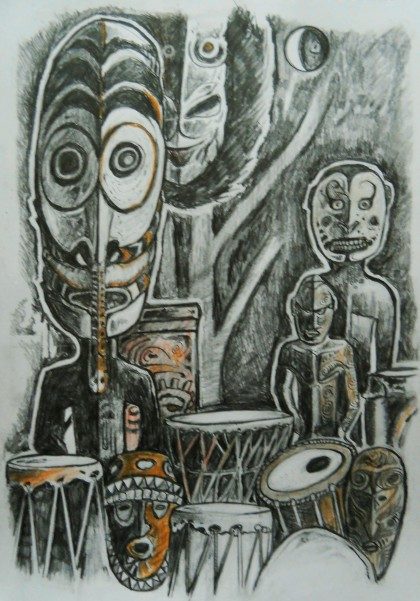 Exotic Drum people