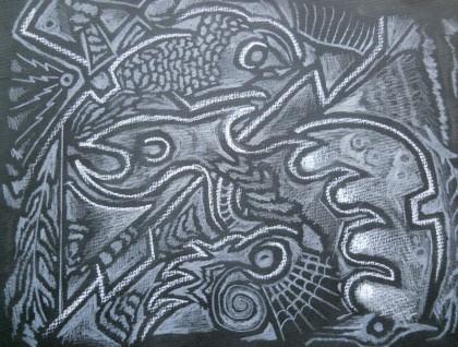 Charcoal fish 1