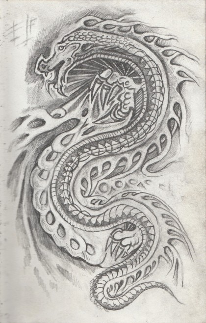 Dragon Drawing-1
