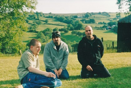 GODFLESH in Wales recording HYMNS