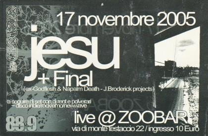 Jesu Zoo Bar