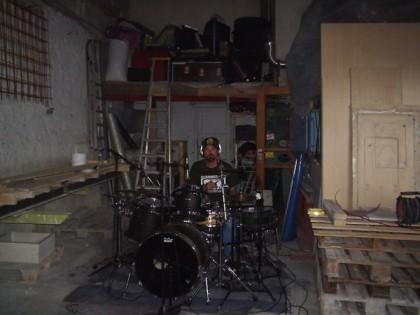 Recording Teledub drums (2000-ish)