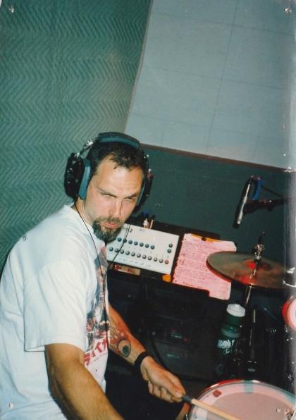 Rude Awakening  Recording session