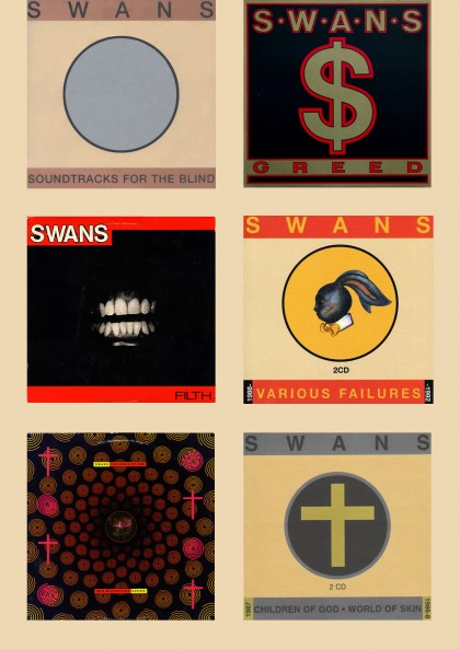 Swans covers